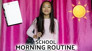 SCHOOL MORNING ROUTINE!!! Nicole Laeno