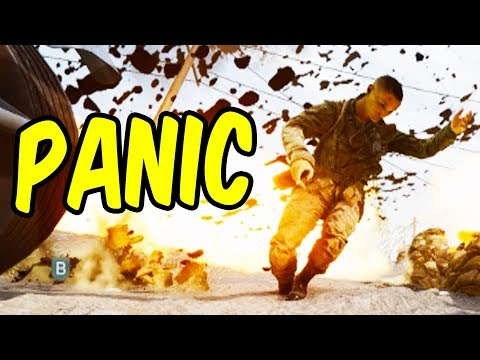 Panic! on the Battlefield - Battlefield V Funny Moments thumbnail