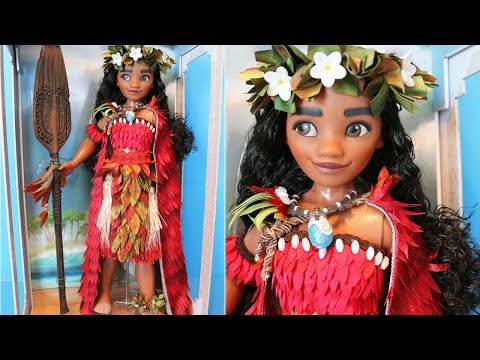 "Disney Limited Edition 17"" Moana Doll Review"