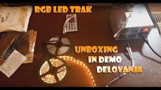 Rgb Led Trak UNBOXING In Demo Delovanja (Full HD - 1080p !)