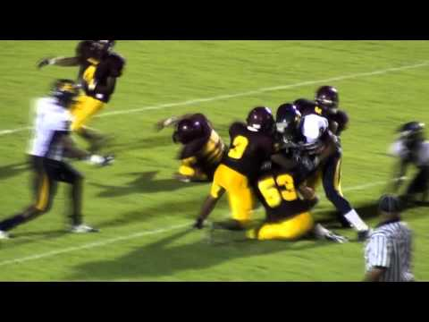 "Michael Branyon Jones #76 Senior Center 6'3"" 285lbs. Keenan High School Columbia SC"