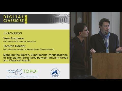 Digital Classicist Seminar Berlin (2015/2016) - Seminar 7 Discussion