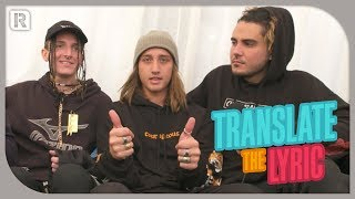 Chase Atlantic - Translate The Lyric