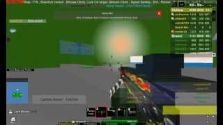 ROBLOX: Base Wars The Land : M249 FLAME.