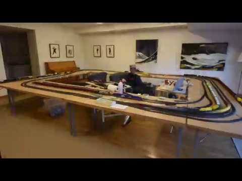 Model railroad days – Build and Operation Time-lapse