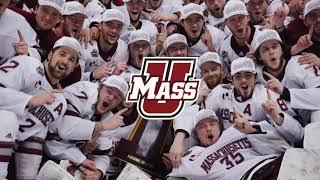 UMass Hockey Visits The Massachusetts State House