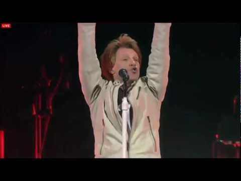 Bon Jovi - You Give Love A Bad Name (Live in Cleveland) HD
