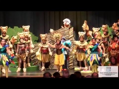 The Davis Academy Lion King Jr. Production