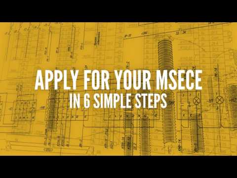 Purdue Engineering Online: MSECE Application Requirements