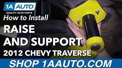 How to Raise and Support 09-17 Chevy Traverse