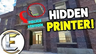 Hidden Money Printer Where No One Would Think To Look - Gmod DarkRP (Made Me Millions!)