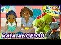 Maya Angelou (Little People, Big Dreams series) | Kids Book READ ALOUD!