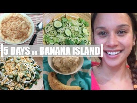5 Day Banana Island Food Diary