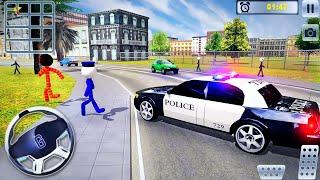 US Police Car Chase Driver Simulator - Crime Transport Prisoner Driving - Android GamePlay screenshot 3