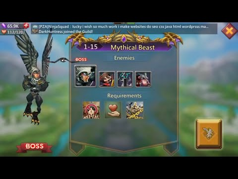 Lords Mobile Challenge 1-15