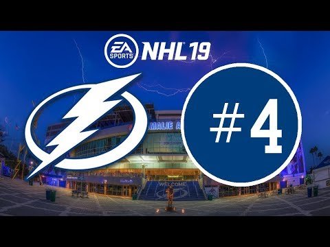 NHL 19 ~ Tampa Bay Lightning Franchise Mode ~ #4 (Upload Schedule in Comments)