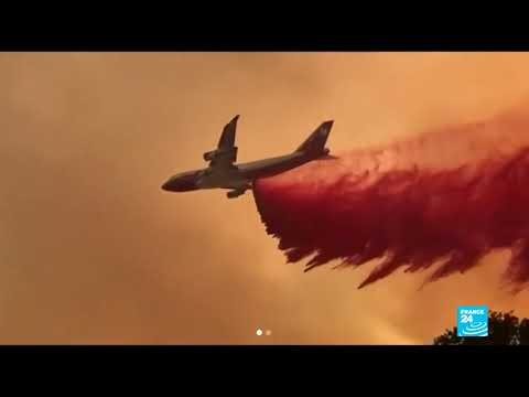 California Wildfires; Mendocino Complex Fire Becomes 5th Largest In State&39;s History
