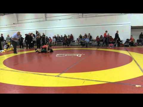 2015 Dino Invitational: 55 kg Kate Richey vs. Erica Ravelo