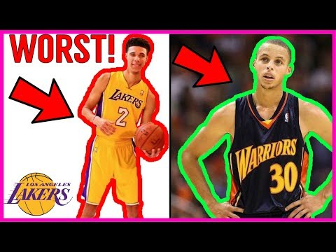 Thumbnail: Why Lonzo Ball will be the WORST ROOKIE in the NBA!! Steph Curry DESTROYS LONZO!