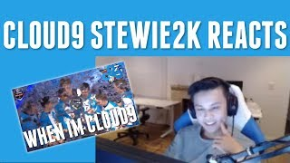 """Stewie2k reacts to """"When I'm Cloud9"""""""