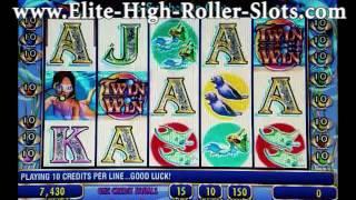 $10 Twin Win Dolphin Treasures Jackpot! Massive Casino Handpay! IGT Aristocrat WMS Slots