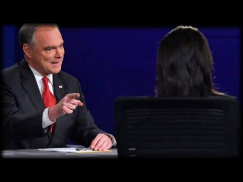 HILLARY IS RUINED AFTER SICK THING TIM KAINE SAID TO WOMAN MODERATOR LAST NIGHT