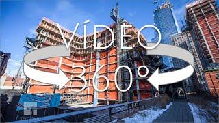 Vídeo VR 360º obra 520 west 28th St, NY de Zaha Hadid