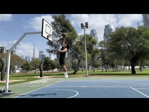 Balling Under Burj Khalifa | Dubai Safa Park