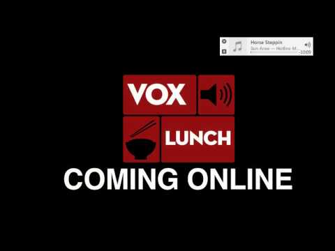 Voxlunch livestream - Jan 15 2016