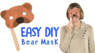 How to Make a Bear Mask| DIY Craft for Kids