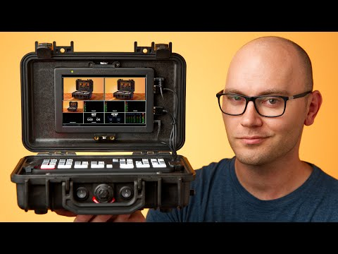 Video Monitor, Recorder and Switcher IN ONE CASE!