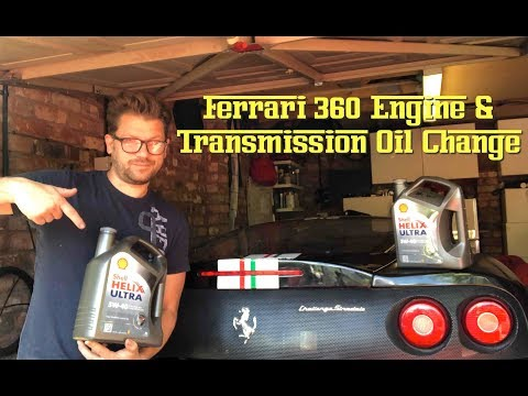 Ferrari 360 How to Change the Oil – DIY Annual Service