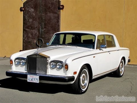 1979 rolls royce silver shadow ii for sale youtube. Black Bedroom Furniture Sets. Home Design Ideas