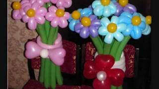 оформление воздушными и гелиевыми шарами одесса(Команда