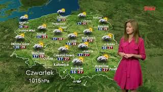Prognoza pogody 26.07.2018