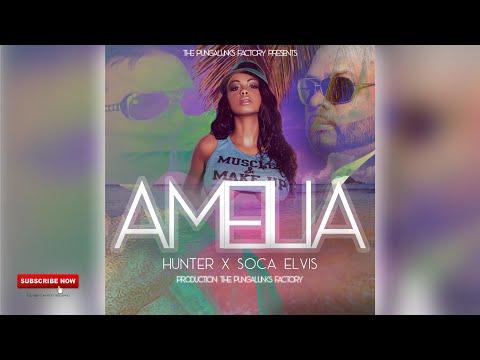 Hunter Feat. Soca Elvis - Ameilia [Chutney Soca 2020]