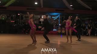 Amaya Dance Semi Pro Mujer Erotica Salsa Performance Sunday Funday Social