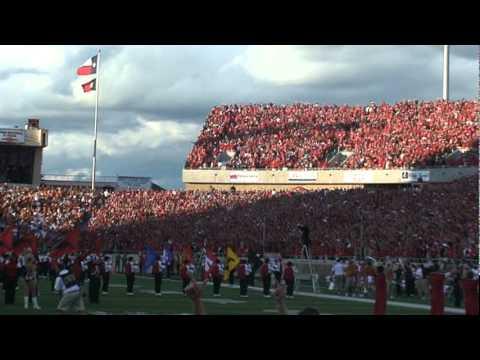 Texas Tech vs UT 2010 Pregame