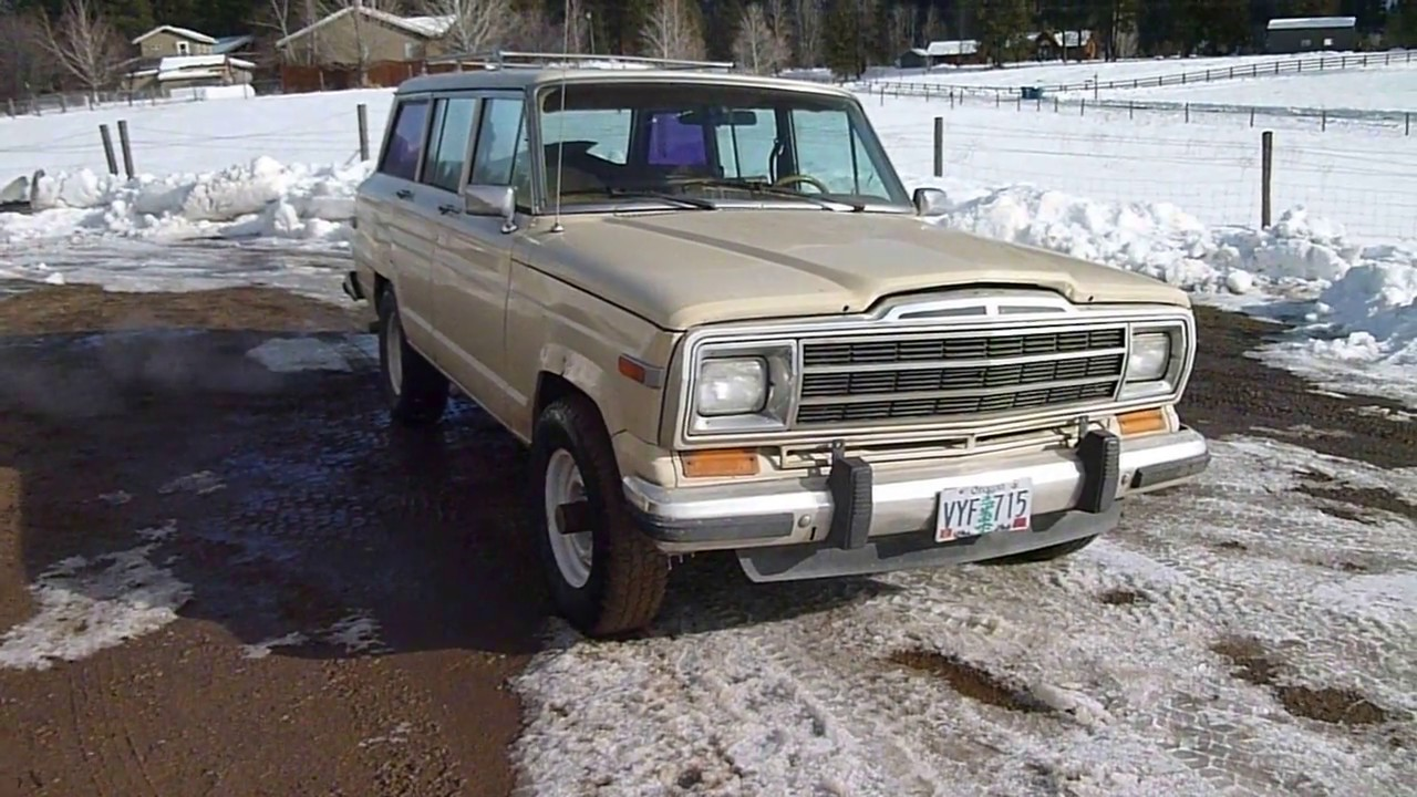 Jeep Wagoneer Review >> 1984 Jeep Grand Wagoneer Review Youtube