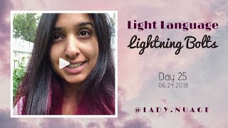 Light Language - Lady Nuage - Lightning Bolt #25