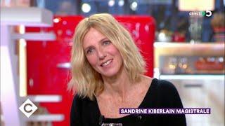 Sandrine Kiberlain magistrale ! - C à Vous - 11/03/2019