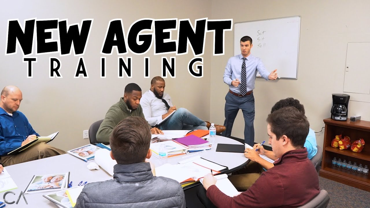 New Insurance Agent Training Set Sit Sell Youtube