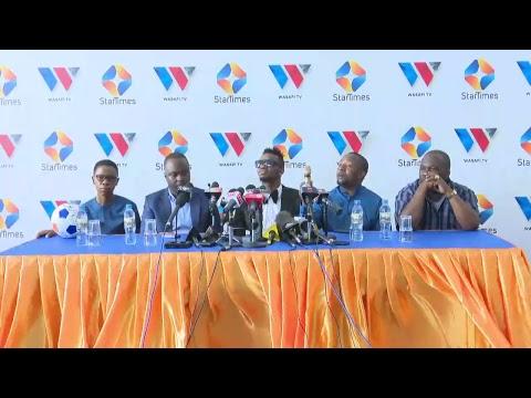 LIVE: Mtendaji Mkuu wa WASAFI TV #DiamondPlatnumz anaongea na Waandishi wa Habari thumbnail