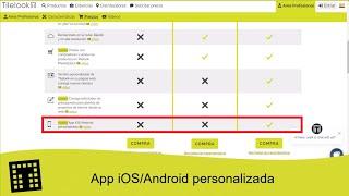 App iOS/Android personalizada