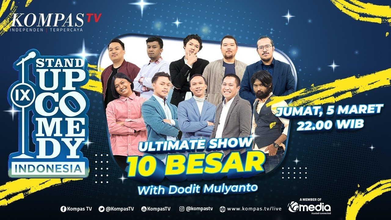 [LIVE] Stand Up Comedy Indonesia IX (SUCI IX) with Dodit Mulyanto - BABAK 10 BESAR