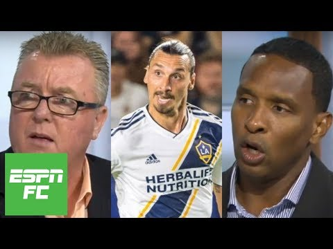 Reacting to Zlatan Ibrahimovic's comments on soccer in the U.S. being 'strangled' | ESPN FC