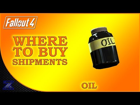 Fallout 4 - How to Find Shipments of Oil Guide | Complete Material Guide