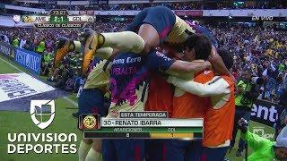 Gol de Renato Ibarra para el América 2-1 Chivas en el Clásico Nacional