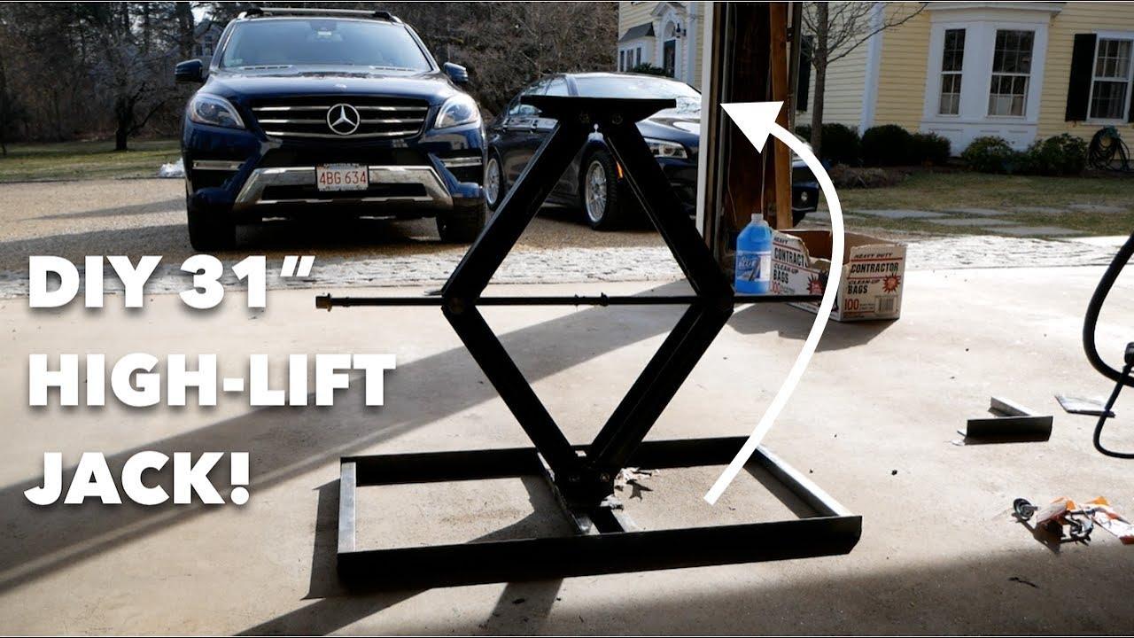 "Car Ramps For Sale >> Custom 31"" High-Lift Jack // EASY DIY - YouTube"