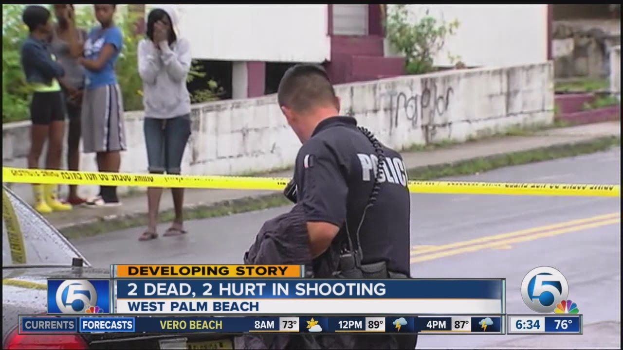 2 dead, 2 hurt in West Palm Beach shooting
